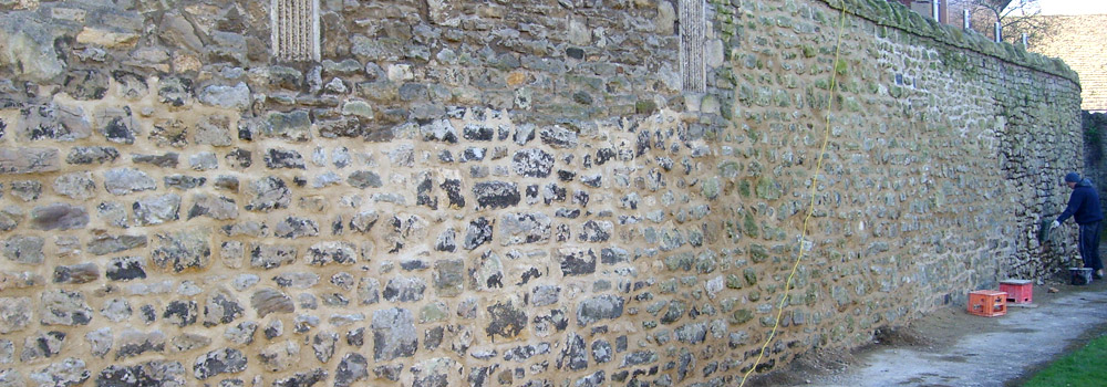 Oxford City Wall Restoration